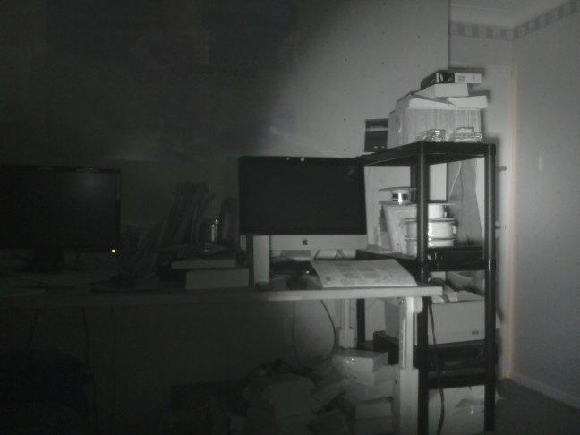 Noir PI Camera with IR LED IllumiPI kit takes grey pictures